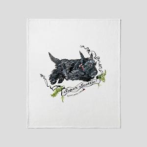 Super Scottih Terrier Throw Blanket