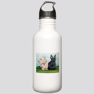 Scottish Terrier Compa Stainless Water Bottle 1.0L