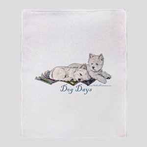 WestHighland White Terrier Da Throw Blanket