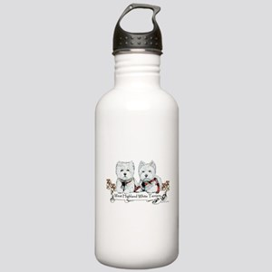 West Highland White Terriers Stainless Water Bottl