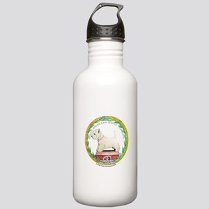 Westie Champion Stainless Water Bottle 1.0L