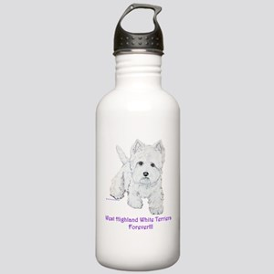 Westies Forever!! Stainless Water Bottle 1.0L