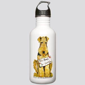 Airedale Welsh Lakeland Terri Stainless Water Bott