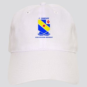 DUI - C Company - 52nd Infantry Regt with Text Cap