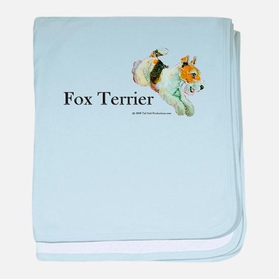 Flying Fox Terrier baby blanket