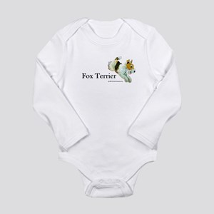 Flying Fox Terrier Long Sleeve Infant Bodysuit