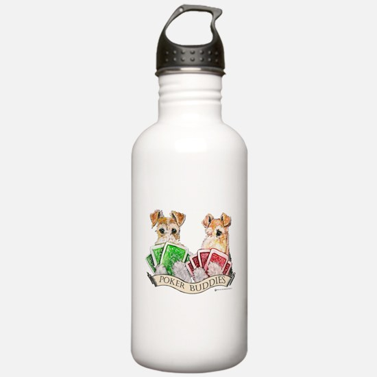 Poker Buddies Water Bottle
