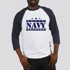 Proud Navy Brother Baseball Jersey