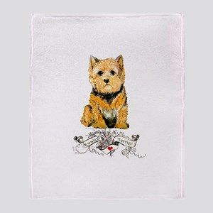 I love my Norwich Terrier Throw Blanket