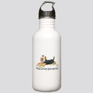 Welsh Terriers Fun Dogs Stainless Water Bottle 1.0