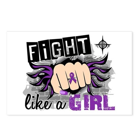 Fight Like A Girl Lupus Postcards (Package of 8)