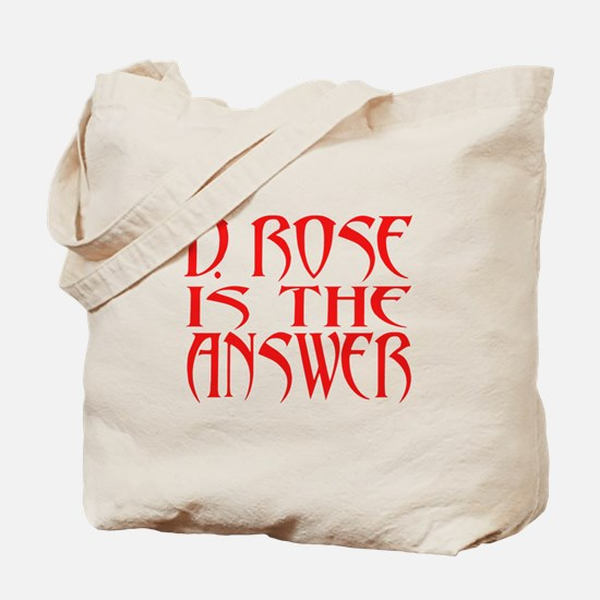 D Rose Answer Tote Bag
