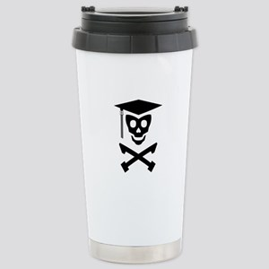 Grad Class Skully Stainless Steel Travel Mug