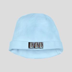 Basset Trio baby hat