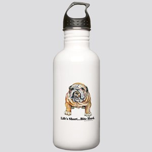 Bulldog Bite for Dog lovers Stainless Water Bottle