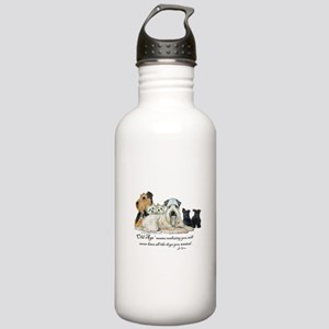 Love Dogs Stainless Water Bottle 1.0L