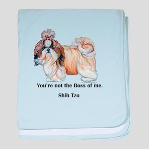 Shih Tzu is Boss baby blanket