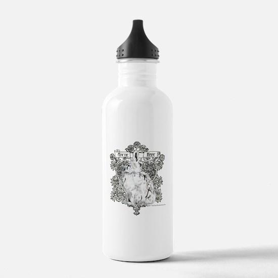 Arctic Hare White Rabb Water Bottle
