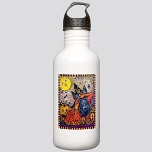 Witch Scottie Hallowee Stainless Water Bottle 1.0L