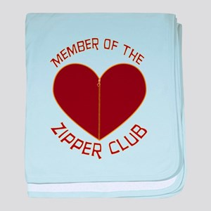 Zipper Club baby blanket