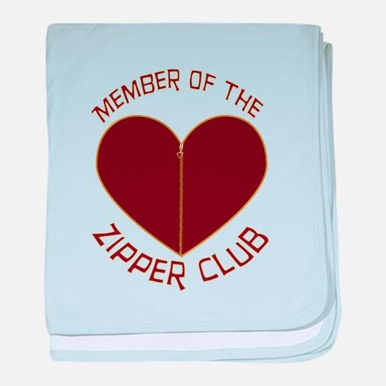 Zipper Club baby blanket