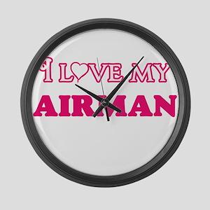 I love my Airman Large Wall Clock