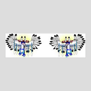 Kachina - The Dance 36x11 Wall Decal