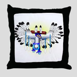 Kachina - The Dance Throw Pillow
