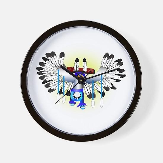 Kachina - The Dance Wall Clock