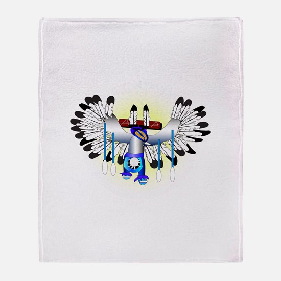 Kachina - The Dance Throw Blanket