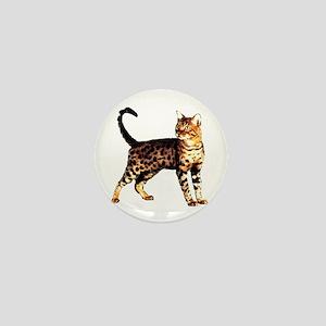 Bengal Cat: Raja Mini Button