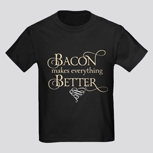 Bacon Makes Better Kids Dark T-Shirt