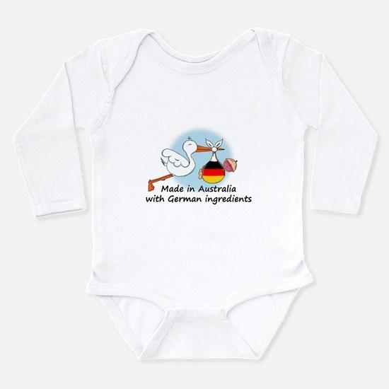 Stork Baby Germany Australia Long Sleeve Infant Bo