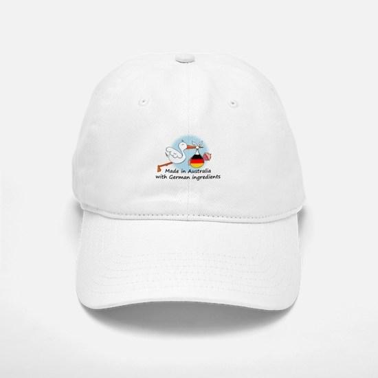 Stork Baby Germany Australia Baseball Baseball Cap