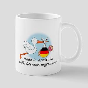 Stork Baby Germany Australia Mug