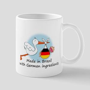 Stork Baby Germany Brazil Mug