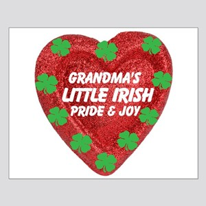 Irish Pride & Joy/Grandma Small Poster