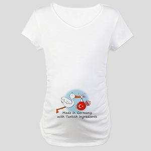 Stork Baby Turkey Germany Maternity T-Shirt