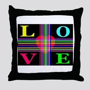 Love Rays Classic Throw Pillow