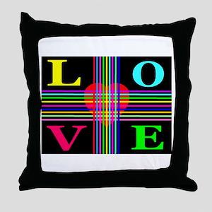Love Rays Classic Throw Pillow
