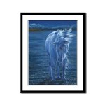 The Last Unicorn Framed Panel Print