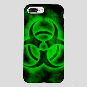 Green Biohazard Symbol iPhone 7 Plus Tough Case