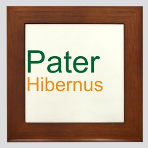 Pater Hibernus (Irish Dad) Framed Tile