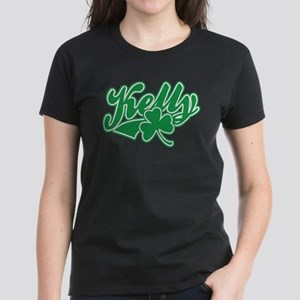 Kelly Irish Shamrock Women's Dark T-Shirt