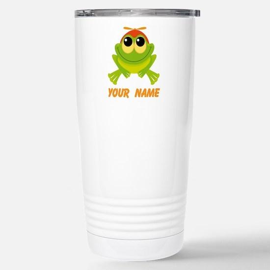 Unique Frogs Travel Mug