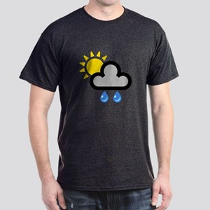Rain Showers Symbol Dark T-Shirt