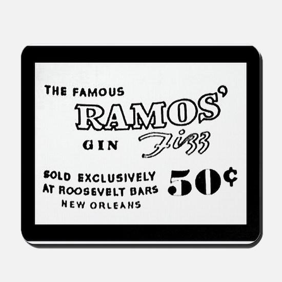 Ramos Gin Fizz Mousepad