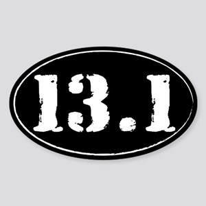 13.1 Sticker (Oval)