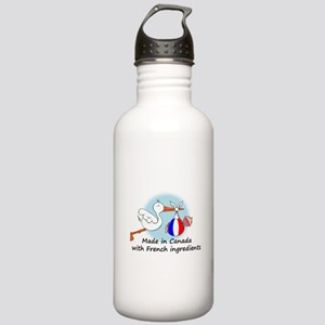 Stork Baby France Canada Stainless Water Bottle 1.