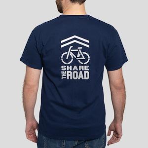 SHARROW (on Front & Back of Shirt) Dark T-Shirt